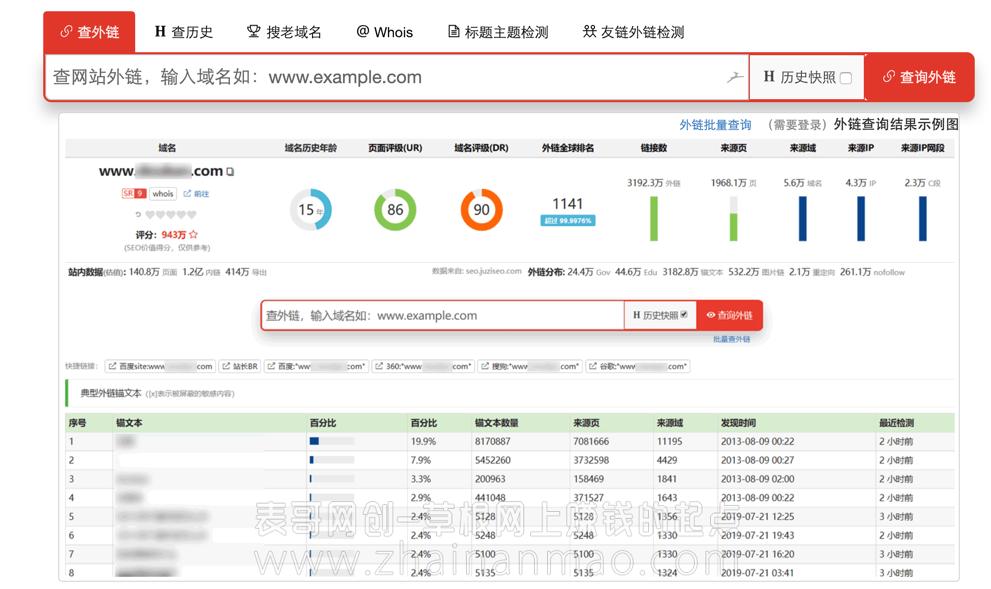创富金点子:老域名挖掘出售项目